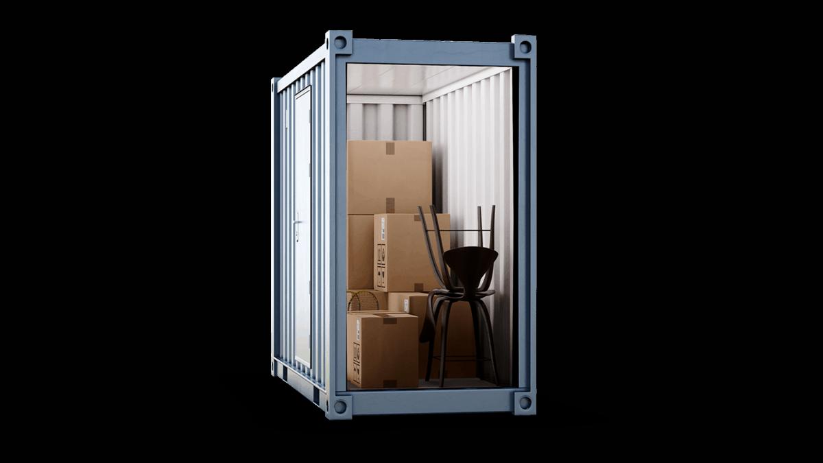 40sqft storage unit salisbury