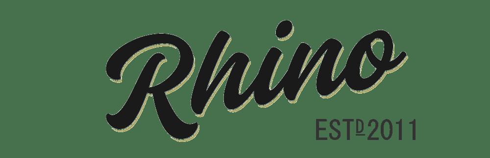 Rhino Storage Logo Black